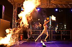 Feuer-Performance